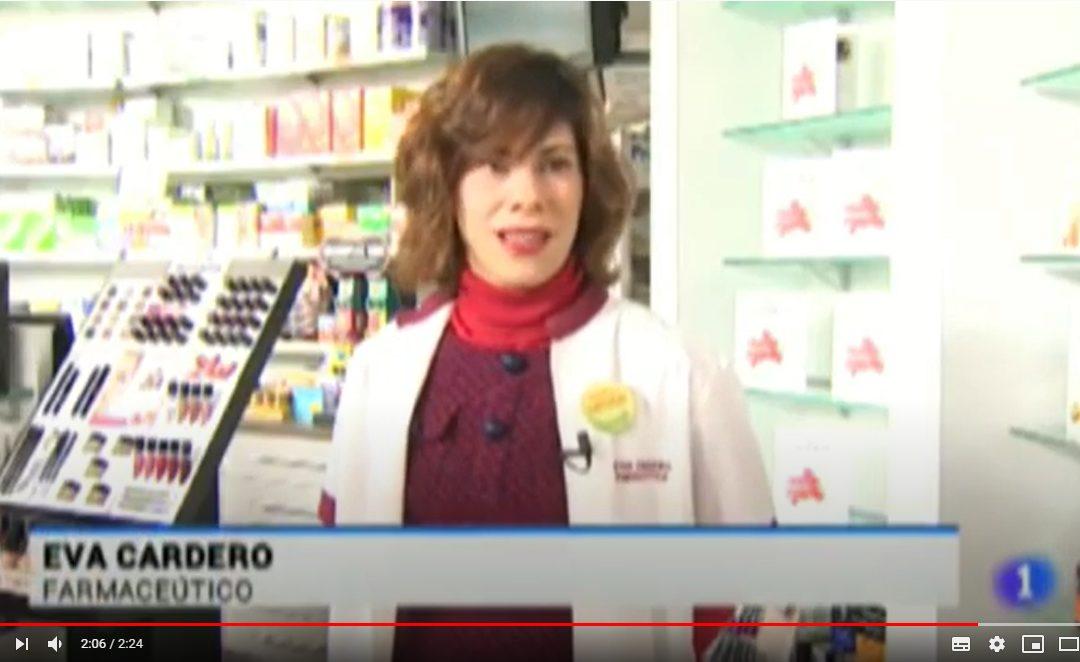 Noticia en Tele Rioja de TVE sobre el uso de remedios naturales y Fitoterapia