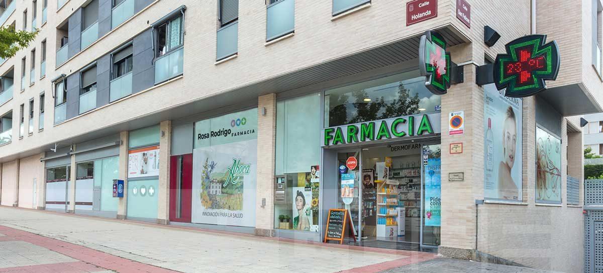 fachada de la farmacia